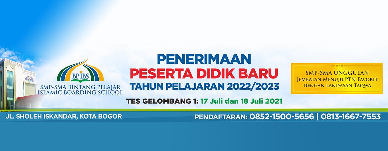 PPDB Sekolah BP IBS TP 2022/2023