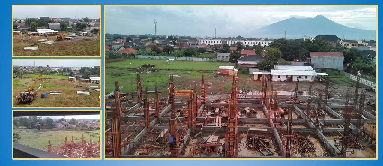 Pembangunan Gedung Sekolah BP IBS
