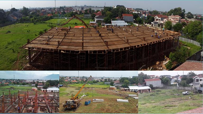 Pembangunan Gedung Sekolah BP IBS 18 Februari 2019
