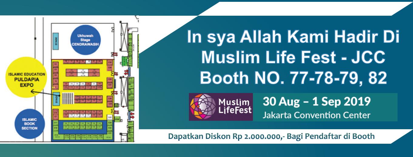 Sekolah BP IBS di Muslim Fest 2019