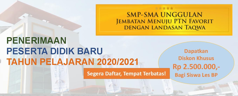 PPDB Sekolah BP IBS TP 2020/2021