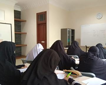 Kegiatan Pengajaran Siswi SMA BPIBS