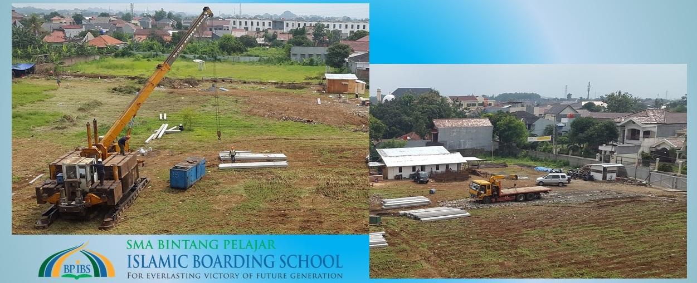 Perkembangan Pembangunan Gedung SMA BP IBS